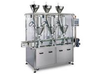 Automatic Three Head Augur Type Dry Syrup Powder
