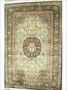 Hand Knotted Silk On Cotton Carpets