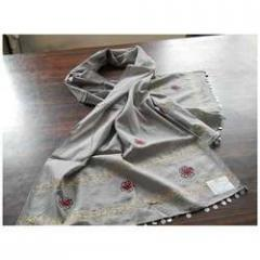 Embroidery Cotton Stole