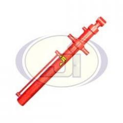 Hydraulic Jack For Tractor Front End Attached