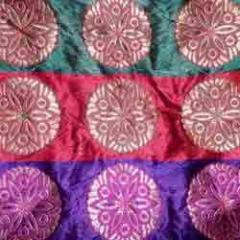 Textile materials - Brocade Saree border