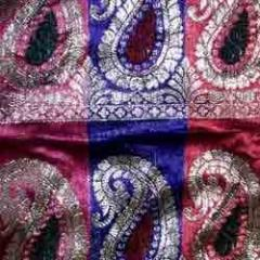 Textile materials - Jacquard Saree border