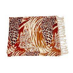 Tiger Print Shawls / Stoles
