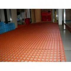 Antifungal antimicrobial FR coating (water based)