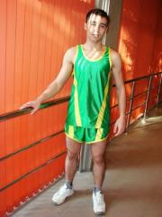 Uniform for track and field athletics