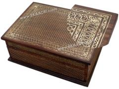 Rosewood Wire Inlay Box