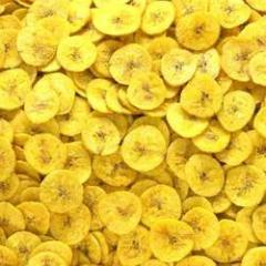 Special Yellow Banana Round Chips