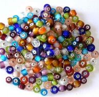 Coloured Heart Beads
