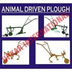 Animal driven plough