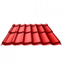 Roofing tile profile sheets