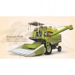 Multi Crop Combine Harvester With Axial Flow-Straw