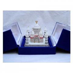 Marble Taj Mahal Replica Miniature