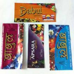 Packaging Material For Incense Sticks