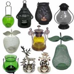 Tea-Light Holder and Lanterns