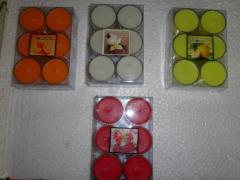 Perfumed Tea Light Candles