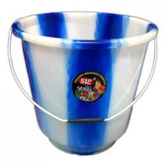 Plastic Buckets Double Colour