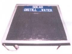 Solar Distil Water Plant