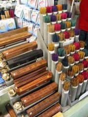 Wooden Incense Sticks Holder