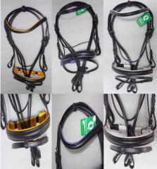 YESRD Leather Dressage Bridle / Schwedisch trense