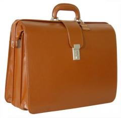 Leather Made Mens Executive Bag