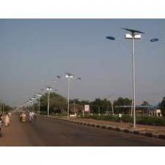 Solar CFL Street Lighting Systems