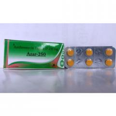 Azithromycin Tablet (Azar - 250)