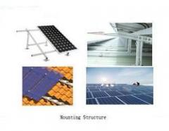 Mounting Structures For Solar Panels