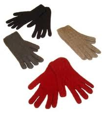 Mens Cable gloves