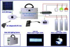 Solar Small Portable Lighing System