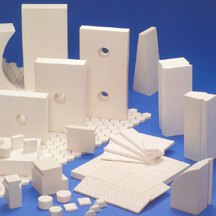 Wear-resistant ceramic tiles