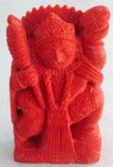 Munga Hanuman Ji/ Coral Hanuman Large