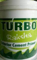 Turbo raksha water based acrylic cement primer