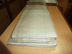 Tassar silk fabrics