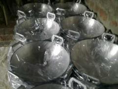 Aluminium Wok