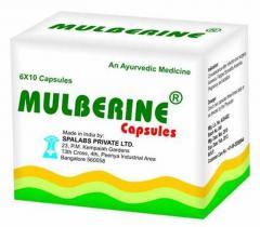 Mulberine: Health Supplement Capsules