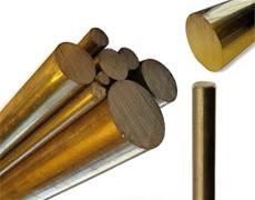 Brass Round Extrusion Rods