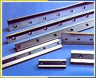 Knives for sheet metal, cold rolling &