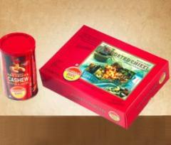 Sweets and namkeen  in decorative boxes - Assorted