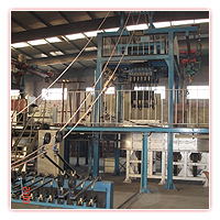Upward continuous casting