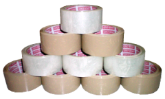 Self Adhesive BOPP Tape ( Brown, Transparent and