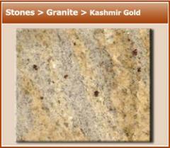 Granite Kashmir Gold Stones