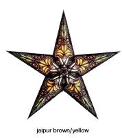 Starlightz Jaipur Brown/yellow