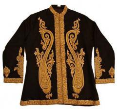 Hand Embroidered Silk Jackets