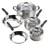 Hollow metal utensils