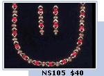 Indowest Necklace Set