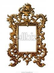 Fancy mirror frames