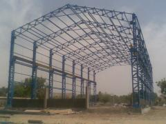 Prefabricated industrial shades