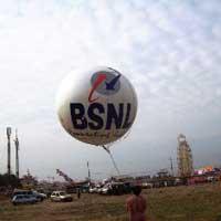 Aerial advertising balloon