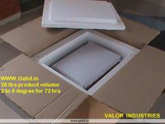 GELID Pre-Qualified Cold Chain Packaging Shippers