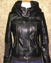 Ladies lather jacket